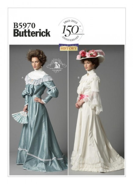 B5970 Röcke Top, Butterick