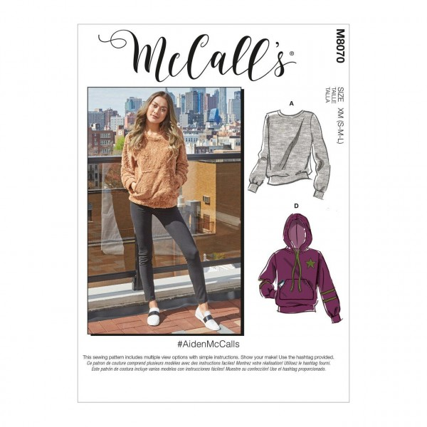 M8070 Sweatshirt, McCalls