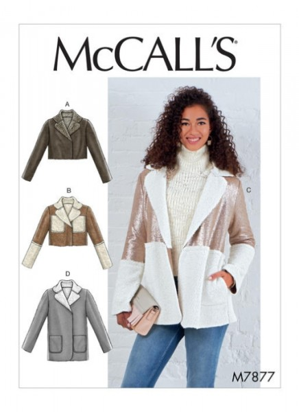 M7877 Jackett Damen, McCalls