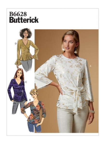 B6628 Damen Top, Butterick