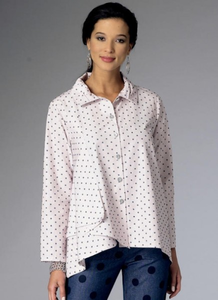 B6325 Damen Shirts, Butterick