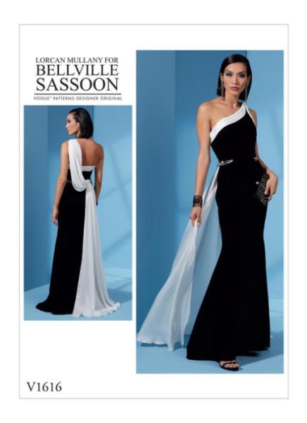 V1616 Damen Kleid, Schnittmuster von Vogue