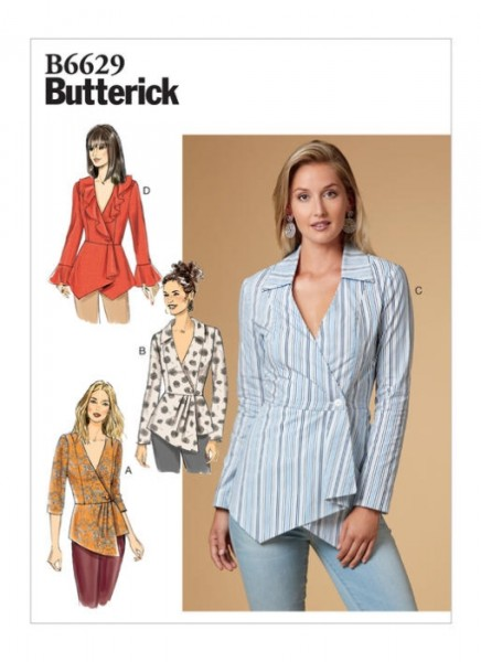 B6629 Damen Top, Butterick